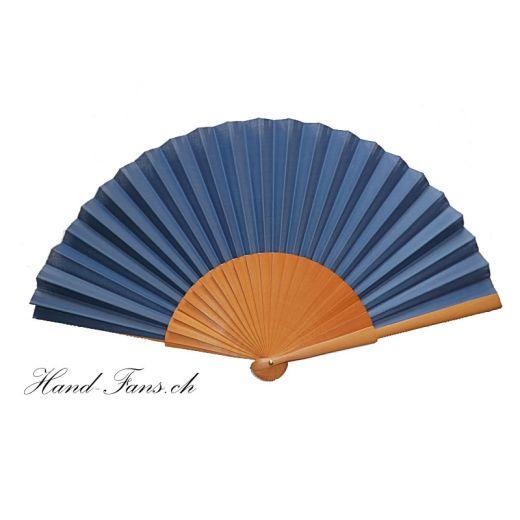 Handfächer Sykomore Azul Marino