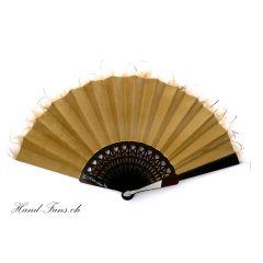 Hand-Fan Suelo Shantung
