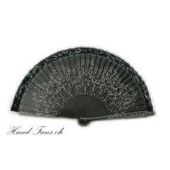 Handfächer Baja Arabica Negro