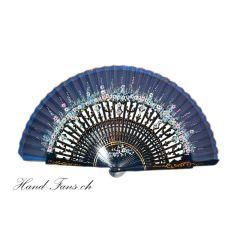 Handfächer El Aura Azul