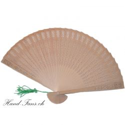 Sandalwood Hand Fan