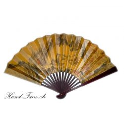 Chinese Silk Hand - Fan