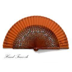 Handfächer La Dama Naranja