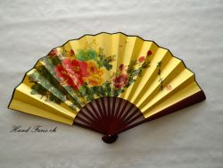 Chinese Silk Hand - Fan - Bigg