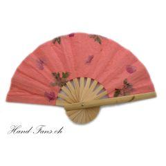Handfächer Coral Flowers Fanha