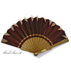 Hand-Fan Pletros Taffetas